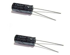 120UF 50V Radial-Electrolytic 105°c (8x20mm)