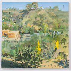 Julian Kreimer, South #1, oil on linen, 24 x 24 inches, 2015