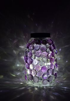 Aleene's Glue Products | Craft & DIY Project Adhesives - Glittering Gem Mason Jars Lights