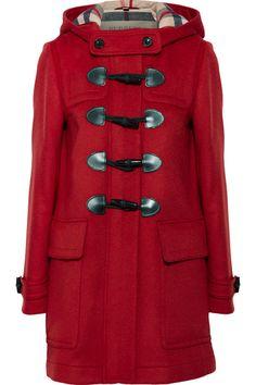 $995, Camel Duffle Coat: Burberry Finsdale Double Wool Duffle Coat ...