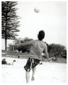 Soccer, Cottesloe beach, 2009