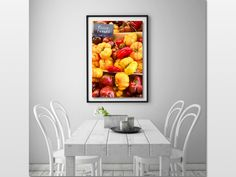 Art for Sale, Tomatoes Wall Art, Kitchen Wall Decor, Digital Download, Tomatoes Art Print, Provence Wall Art, Vegetable Wall Decor, Kitchen Wall Prints