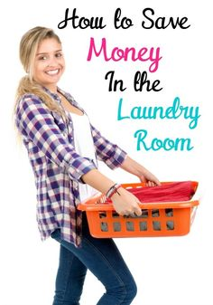 Do you struggle with laundry and wish there was a way you could simplify your life and cut down on laundry and laundry costs? Check out this post for 5 Ways to Save Money on Laundry...