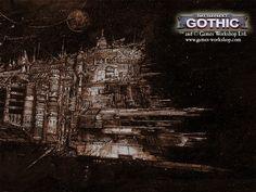 Papel de Parede Gratuito de Fantasia : Battlefleet Gothic