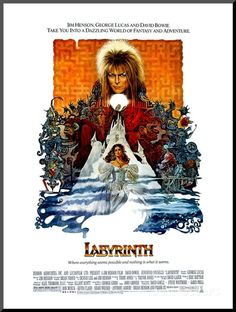 Labyrinth, David Bowie, Jennifer Connelly, 1986 Photo - AllPosters.co.uk