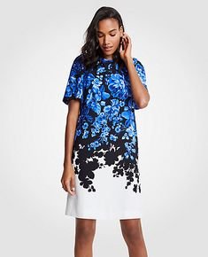 de772f6e3fc2b Shop Ann Taylor for effortless style and everyday elegance. Our Floral  Toile Flare Sleeve Shift Dress is the perfect piece to add to your closet.