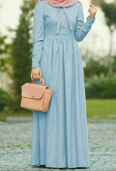 Hijab Style Dress, Modest Fashion Hijab, Modern Hijab Fashion, Muslim Women Fashion, Islamic Fashion, Abaya Fashion, Fashion Dresses, Mode Abaya, Mode Hijab