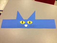 Pete the Cat Hat. Cute for blue day!