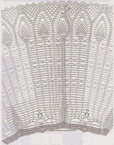 Marisabel crochet: Que lindo mantel