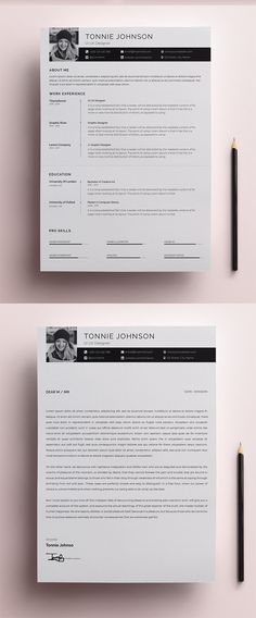Free Resume/Cv Set with Cover Letter