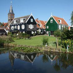 Volendam in the netherlands