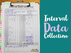 Interval Data Collection