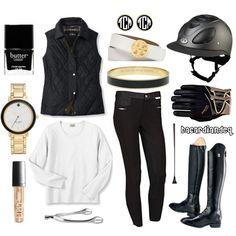 Black, White, Gold - Polyvore