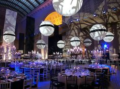 Union Station got the Kenmare make-over for this dramatic event setting ...and the menu was a culinary masterpiece.
