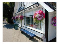The James Bay Tea Room and Restaurant in downtown Victoria BC - a favorite of our family's whenever we're there on vacation.