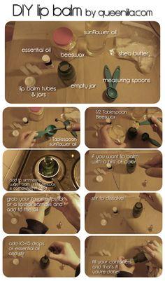 TUTORIAL: DIY lip balm