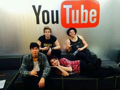 Calum is a Youtube worker---> 5SOS live stream