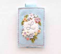 Feeling Stitchy Tutorial: Embroidered Gadget Cozy