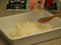 Como fazer arroz para sushi – parte III (receitas)