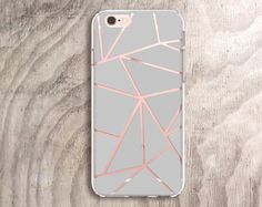 Pineapple iPhone 6 Case Clear Rubber iPhone 5 Case by casesbycsera