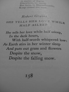 by Robert Graves