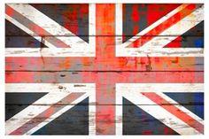 Union Jack (Reclaimed Wood)