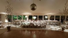 Simple and elegant Autumn marquee wedding Marquee Events, Marquee Wedding, Chandelier, Ceiling Lights, Autumn, Weddings, Table Decorations, Elegant, Simple