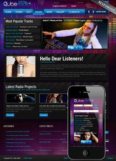 Radio ST v3, Joomla template - ID: 300111852