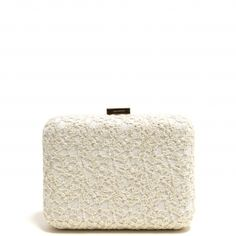 Bolso Clutch Beige Bordado Outlet, Tissue Holders, Facial Tissue, Ottoman, Chair, Beige, Furniture, Home Decor, Needlepoint