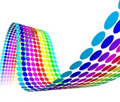 Find Color Dots Waves stock images in HD and millions of other royalty-free stock photos, illustrations and vectors in the Shutterstock collection. Thousands of new, high-quality pictures added every day. Leaflet Printing, Bookmark Printing, Flyer Printing, Printing Services, Web Design Company, Good Company, Rainbow Colors, All The Colors, Color Schemes