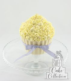 Pretty Little Flowers Giant Cupcake