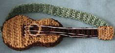 free pattern for mini guitar – Amigurumi Free Pattern İdeas. Crochet Music, Crochet Game, Crochet Gifts, Free Crochet, Knit Crochet, Crochet Doll Clothes, Doll Clothes Patterns, Crochet Dolls, Amigurumi Patterns
