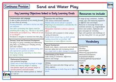 Continuous Provision: Sand and Water