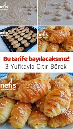 Bread Recipes, Cooking Recipes, Pasta Cake, Turkish Recipes, Homemade Beauty Products, Food And Drink, Easy Meals, Breakfast, Herbs