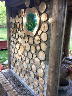 Pelle Henriksson has added to his portfolio with these new pictures of his backyard sauna in Sweden. He calls his Facebook building siteKubbhusbastuwhich translates to Cordwood Sauna which Pelle…