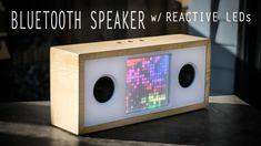 DIY Bluetooth Speaker w/ LED Visualizer