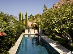 Visit a Globe-Trotting Designer's Vacation Home in Greece Photos | Architectural Digest / Landscape design by Louis Benech
