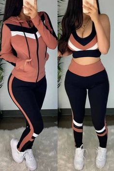 Trend Fashion, Pink Fashion, Fashion Fashion, Girl Outfits, Cute Outfits, Fashion Outfits, Modelos Fashion, Vetement Fashion, Outfit Sets