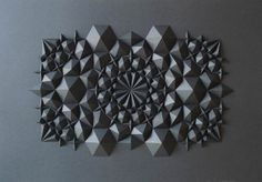 Geometric Paper Art by Matt Shlian