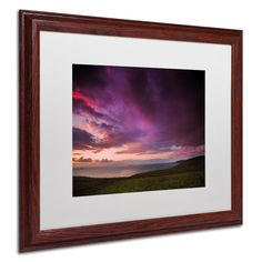 One Source of Light by Philippe Sainte-Laudy Matted Framed Photographic Print