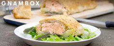 Dalla collaborazione tra Buitoni e <a href=http://gnambox.com/>Gnam Box</a>, una torta salata sfiziosa, colorata e saporita.