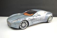 248.80$  Buy here - http://aliq9k.worldwells.pw/go.php?t=32775451731 - * VILLA D'ESTE BLUE 1:18 Aston Martin One 77 2009 Sport Car Diecast Model Show Car Miniature Toys Alloy Gifts Collection Minicar 248.80$