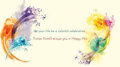 Let your life be a colorful celebration Happy #Holi..... @trailerkraft    #HappyHoli