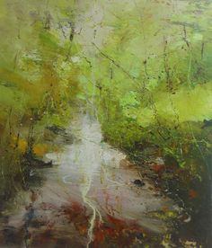 Junction Art Gallery - Claire Wiltsher 'Down in the Woods 2' www.junctionartgallery.co.uk