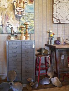 Vintage File Cabinet