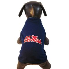 NCAA Ole Miss Rebels Cotton Lycra Dog Tank Top, XX-Large >>> Awesome dog product. Click the image : dog clothes