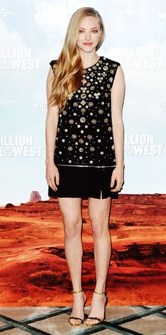 Look of the Day - May 27, 2014 - Amanda Seyfried in Alexander McQueen from #InStyle