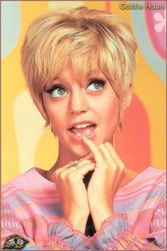 "Actress Goldie Hawn, who came to prominence as the ""sock-it-to-me"" girl on TV's Laugh-In, was born Nov. 21, 1945."