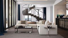 The penthouse at the Residences at Mandarin Oriental, Atlanta