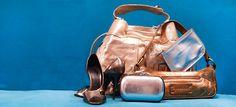 Metallics Chic, Metal, Photography, Bags, Fashion, Shabby Chic, Handbags, Moda, Elegant